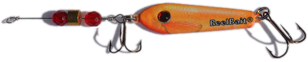 55808 - Goldfish w/Red Beads - 1 1/2 oz Prototype Fergie Spoon
