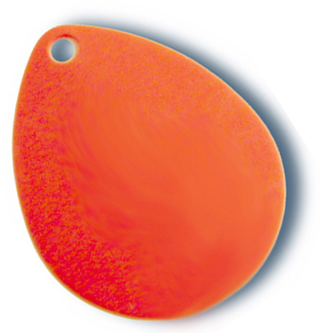 -723 - Colorado Blade #4 Fluorescent Orange Solid - 10 Pack