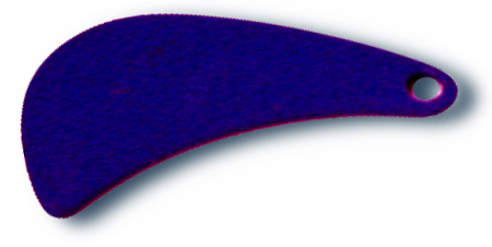 -721 - Tomahawk Blade #4 Purple - 10 Pack