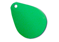 -47 - Clacker Blades Fluorescent Green - Solid - 10 pack