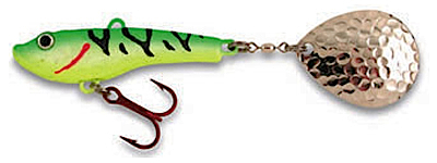 55258 - Glowtiger 1/4 oz Lytle's Secret Tail Spinner