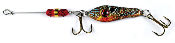 55602 - Bluegill w/Red Beads- 3/4 oz Prototype Fergie Spoon