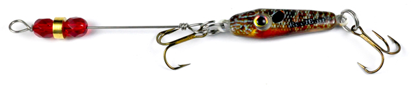 55622 - Bluegill w/Red Beads - 1/4 oz Prototype Fergie Spoon