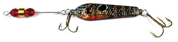 55816 - Bluegill w/Red Beads - 1 1/2 oz Prototype Fergie Spoon