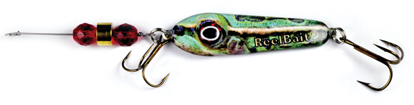 55809 - Frog w/Red Beads - 1 1/2 oz Prototype Fergie Spoon