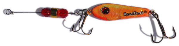 55554 - Goldfish w/Red Beads - 3/4 oz Prototype Fergie Spoon