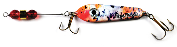 55805 - Koi w/Red Beads - 1 1/2 oz Prototype Fergie Spoon