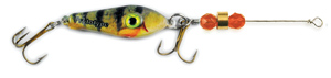 55546 - Perch w/Orange Beads - 3/4 oz Prototype Fergie Spoon