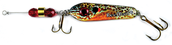55607 - Pumpkin Seed w/Red Beads - 1 oz Prototype Fergie Spoon