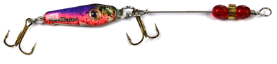 55621 - Rainbow Trout w/Red Beads - 1/4 oz Prototype Fergie Spoon