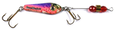 55591 - Rainbow Trout w/Red Beads - 1/2 oz Prototype Fergie Spoon