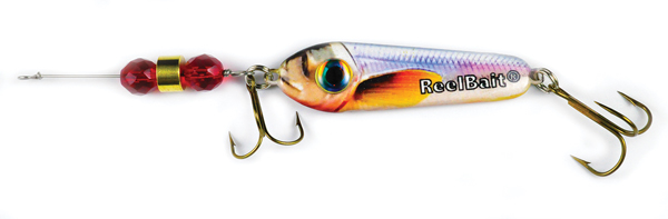 55813 - Rainbow Smelt w/Red Beads - 1 1/2 oz Prototype Fergie Spoon