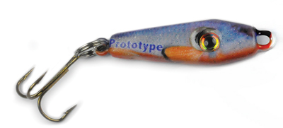 55493 - RedFin Shiner 1/4 oz Prototype Spoon