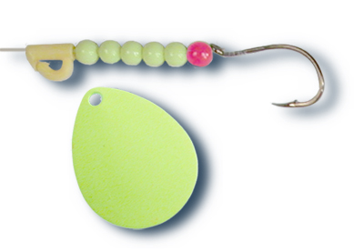 -103 - Fluorescent Chartreuse w/Chartreuse Beads