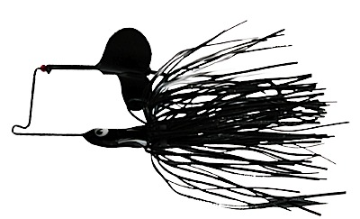 -547 - Time Bomb Buzz Bait - Black