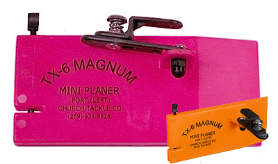 783525-30501 - Church Tackle Co. TX-6 Magnum Mini Planer. PORT (Left)