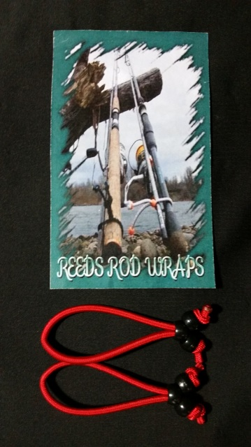 642014-25238 - Large Imperial Red Reeds Rod Wraps